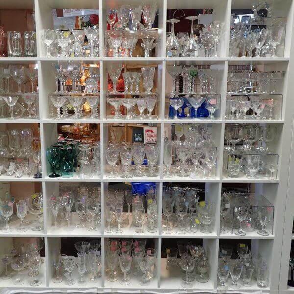 Glassware, Stemware & Dinnerware